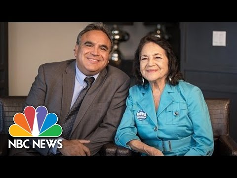 One Heritage, Two Generations: Civil Rights Activist Dolores Huerta And Son, Emilio