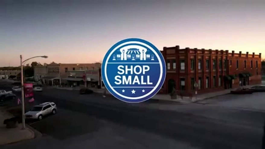"""American Express 'Small Business Saturday' Campaign: """"Pledge to Shop Small"""""""