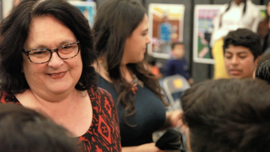 Judy Baca's mural project empowers Watts students