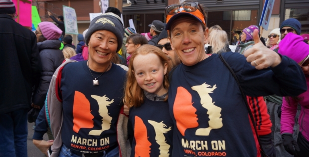 Women's March on Denver (Photo Gallery)