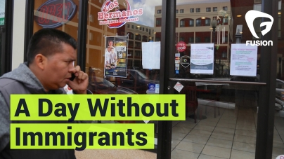 'A Day Without Immigrants' Takes Place Across the U.S.