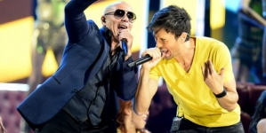 Enrique Iglesias And Pitbull Live! Sharing The Stage For Co-Headlining Summer Tour