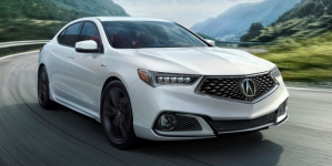 2018 Acura TLX Makes World Debut with Aggressive, Sporty Design, and New Technology Features
