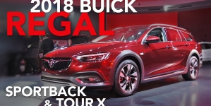 2018 Buick Regal Sportback & Buick Regal TourX Wagon – First Look