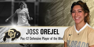 Joss Orejel Named Pac-12 Defensive POW, Buffs Ranked No. 21