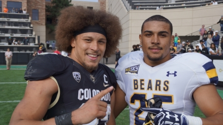 CU Buffaloes take down the UNC Bears 41-21 (Photo Gallery)