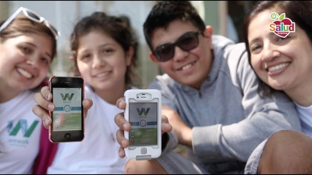 13-year-old Latina girl creates fitness app for health, walking