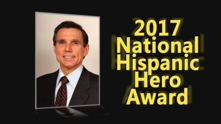 USHLI 2017 National Hispanic Hero Award – Federico Pena