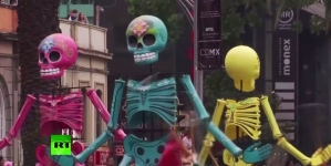 Commercialization hits Dia de los Muertos celebrations