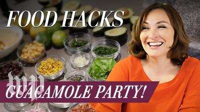 Mary Beth Albright's Food Hacks: Guacamole Party!
